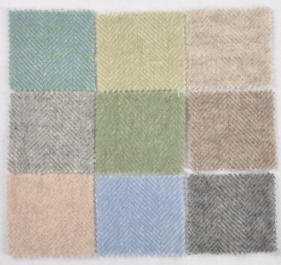 """""""Classic 7-5"""" -  sea green Merino wool throw"""